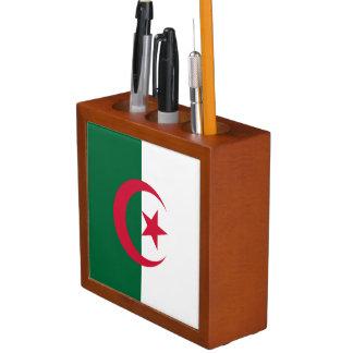 Algeria Flag Desk Organizer