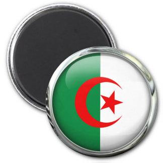 Algeria Flag Glass Ball Magnet