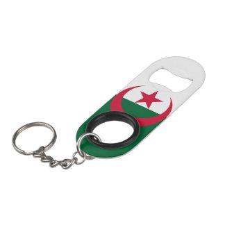 Algeria Flag Keychain Bottle Opener