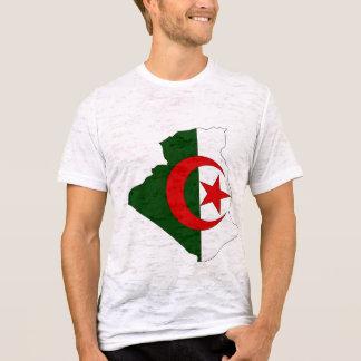 Algeria flag map T-Shirt