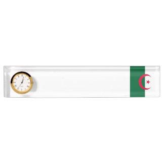 Algeria Flag Nameplate