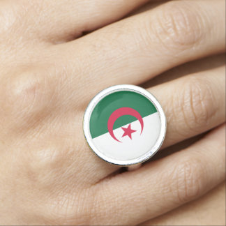 Algeria Flag Ring