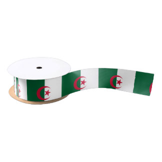 Algeria Flag Satin Ribbon