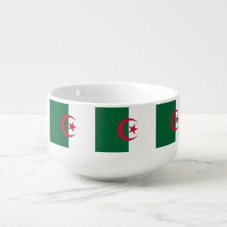 Algeria Flag Soup Mug