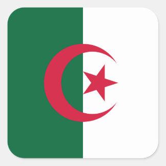 Algeria Flag Square Sticker