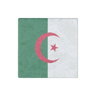 Algeria Flag Stone Magnets
