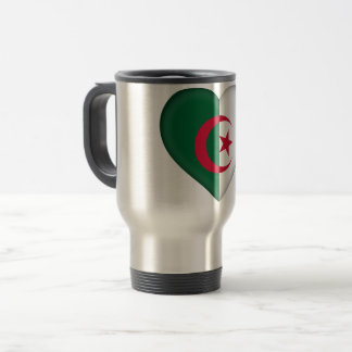 Algeria Flag Travel Mug