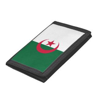 Algeria Flag Trifold Wallet