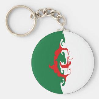Algeria Gnarly Flag Keychain