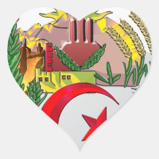 Algeria Heart Sticker