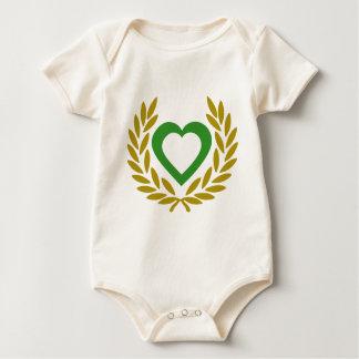 algeria-laurel-heart- baby bodysuit