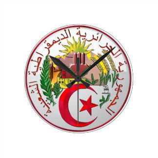 Algeria Round Clock