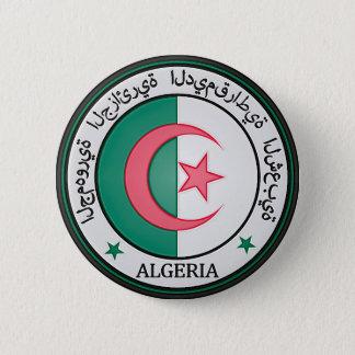 Algeria  Round Emblem 2 Inch Round Button