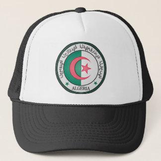 Algeria  Round Emblem Trucker Hat