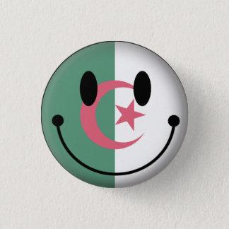 Algeria Smiley 1 Inch Round Button