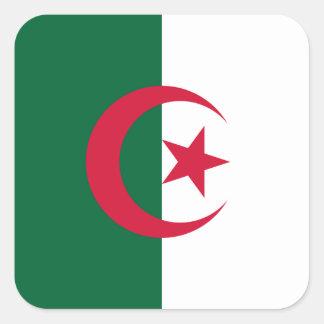 Algeria Square Sticker