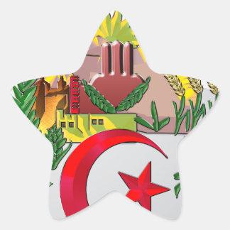 Algeria Star Sticker