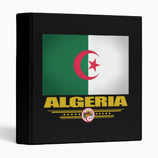 Algerian Flag 1 Vinyl Binder
