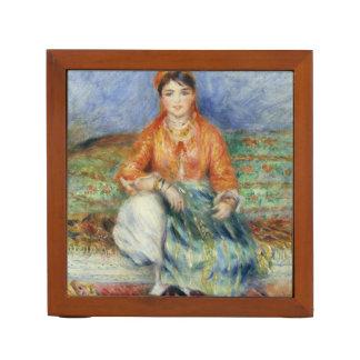 Algerian Girl by Pierre-Auguste Renoir Desk Organizer