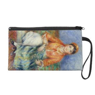 Algerian Girl by Pierre-Auguste Renoir Wristlet Purse