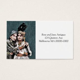 Algerian Gypsy Girls Business Card