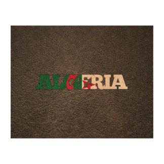 Algerian name and flag queork photo prints