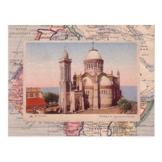 Algiers, Church of Notre Dame d'Afrique Postcard