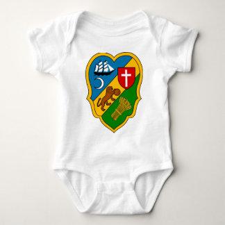 Algiers_Coat_of_Arms_(French_Algeria) Baby Bodysuit