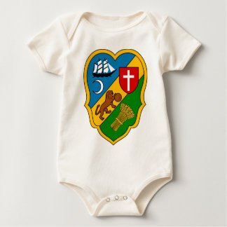 Algiers_Coat_of_Arms_(French_Algeria) Baby Bodysuit