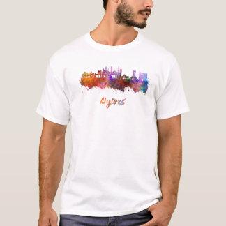 Algiers skyline in watercolor T-Shirt