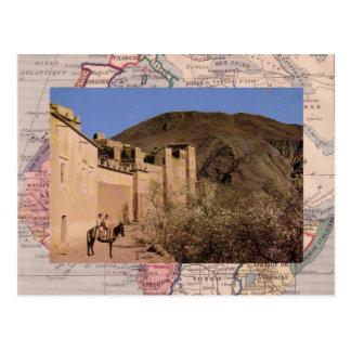 Algiers, Walled town, southern Morocco Postcard