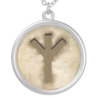 'Algiz' Rune Necklace