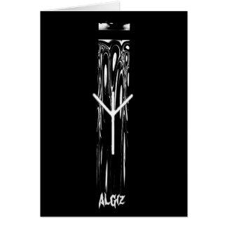 ☼ Algiz - the Rune of Protection ☼ Card