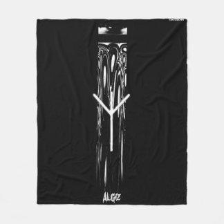 ☼ Algiz - the Rune of Protection ☼ Fleece Blanket