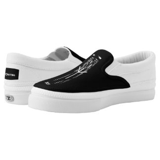 ☼ Algiz - the Rune of Protection ☼ Slip-On Sneakers