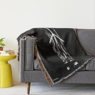 ☼ Algiz - the Rune of Protection ☼ Throw Blanket