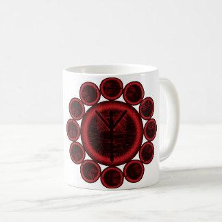 Algiz tree of life rune coffee mug