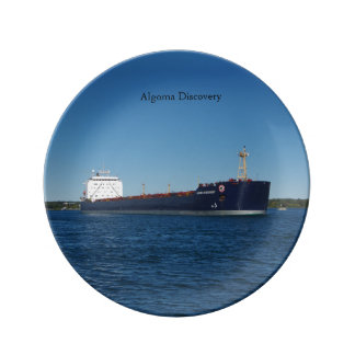 Algoma Discovery decorative plate