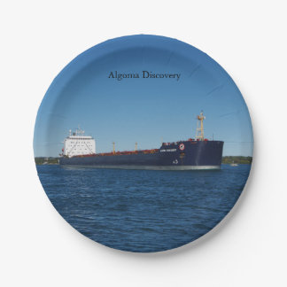 Algoma Discovery paper plate
