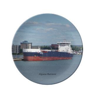 Algoma Harvester decorative plate