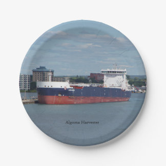 Algoma Harvester paper plate