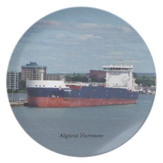 Algoma Harvester plate