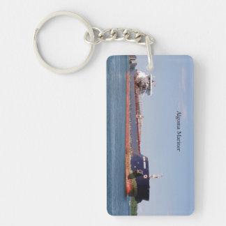 Algoma Mariner rectangle key chain