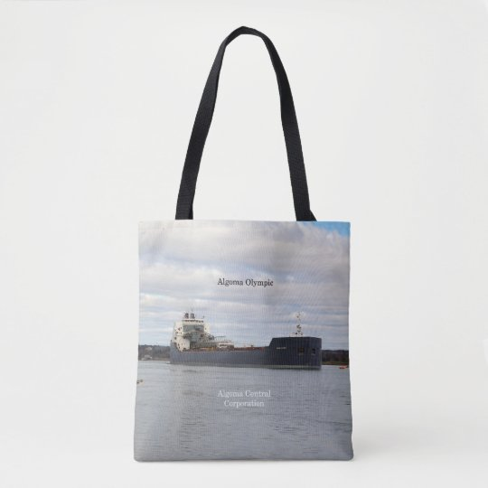 Algoma Olympic all over tote bag