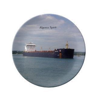 Algoma Spirit decorative plate
