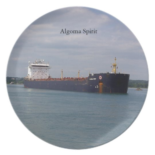 Algoma Spirit plate