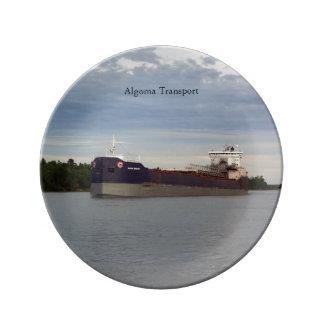 Algoma Transport decorative plate