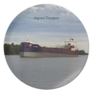 Algoma Transport plate