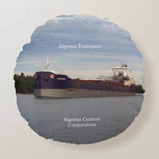 Algoma Transport round pillow