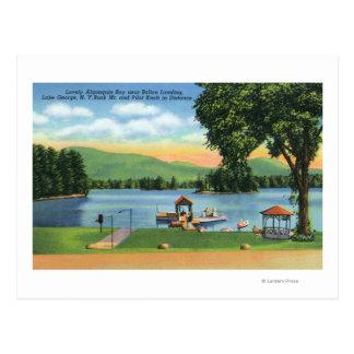 Algonquin Bay View of Buck Mt and Pilot Knob Postcard